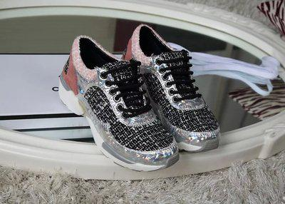 �ͧ��� Chanel - Shopping 2015 new chanel shoes sneakers running shoes colorful knit Symphony flat casual low shoes