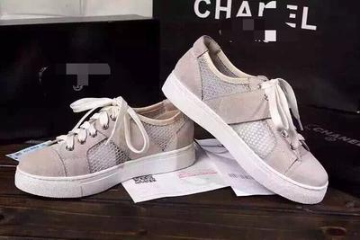 �ͧ��� Chanel - XUANMU ~ Chanell Chanel counter synchronization with paragraph 15 summer new mesh + leather sport sandals